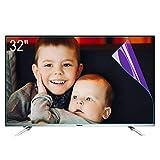 """ZSLD - Pellicola protettiva per schermo TV da 32 a 80 pollici, filtro anti luce blu e antiriflesso, per alleviare l'affaticamento degli occhi, per LCD LED OLED QLED HDTV, 32"""", 704 x 395 mm"""