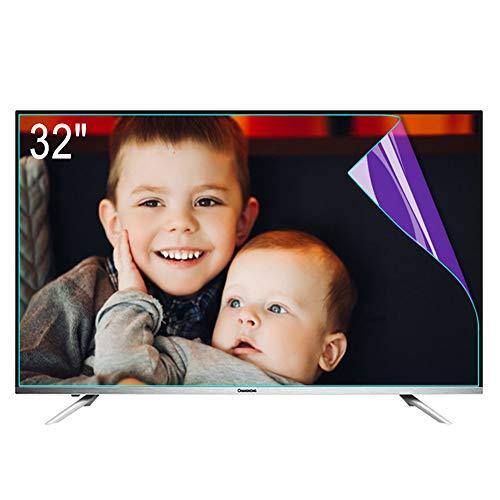 "ZSLD Película Protectora De Pantalla De TV De 32~80 Pulgadas, Filtro Anti Luz Azul/Deslumbramiento con Alivio De La Fatiga Ocular, para LCD LED OLED QLED HDTV,32"" 695 * 390mm"