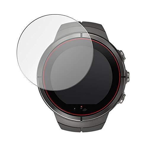 Vaxson 3 Pièces Film Protecteur d'écran en Verre Trempé, compatible avec SUUNTO SPARTAN ULTRA/SPORT WRIST HR, 9H Screen Protector Guard [pas en Coque Case ]