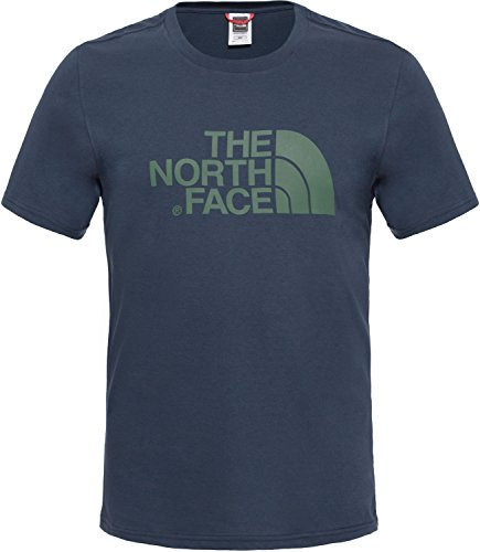 The North Face S/S Easy H Camiseta de Manga Corta, Hombre, A