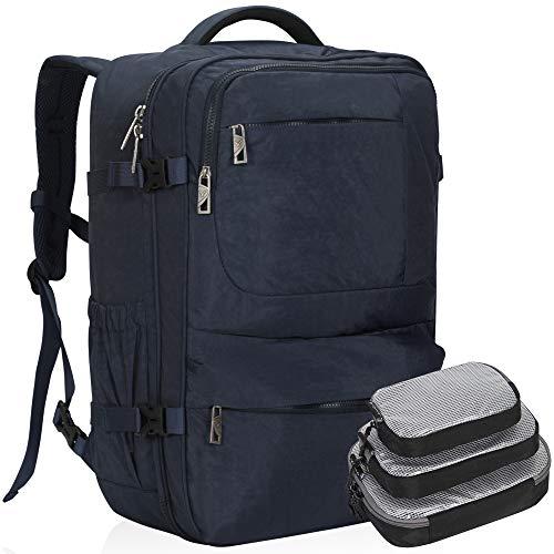 Hynes Eagle 44L Carry on Backpack Flight Approved Compression Travel Pack Cabin Bag