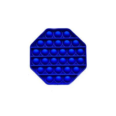 Pandiui23 Juguete Antiestrés Sensorial Juego Explotar Burbujas Autismo Ansiedad Fidget Niños Necesidades Especiales Relajante Adultos Original Divertido Push Pop Pop Bubble Game (Azul) de dert