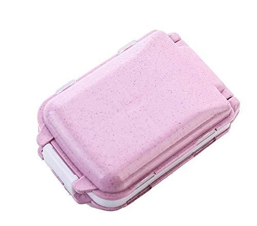 Portable Folding Pill Case Medicine Vitamin Drug Pills Storage Box Cases Drugs Capsule Splitters...