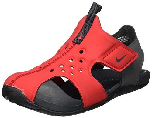 Nike Sunray Protect 2 (TD), Scarpe da Ginnastica Unisex-Bambini, Univ Red/Anthracite-Black, 27 EU