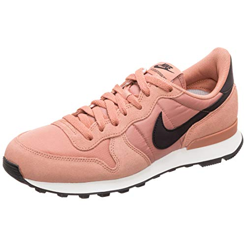 Nike Damen WMNS Internationalist Leichtathletikschuhe, Mehrfarbig (Rose Gold/Oil Grey/Summit White 617), 38 EU