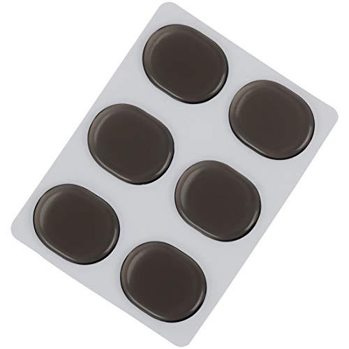 6pcs Silikon Drum Snare Drum Mute Pad Silencer Aufkleber Musikinstrumente Zubehör Musikinstrumententeile Ersatzteile ( Color : Coffee )