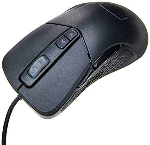 Cooler Master Mouse - Right-Handed - Optical - 7 Buttons - Wired - USB - Black