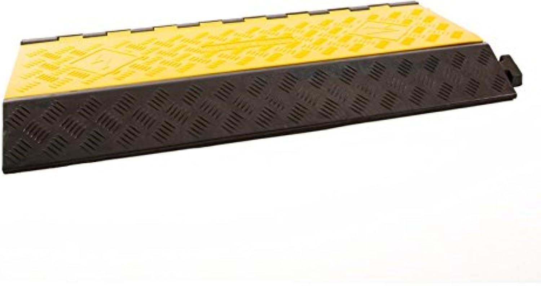 Technikplaza - Kabelbrücke 3 Kanäle schwarz gelb 905x505mmx76mm B07BH4NSMF | Ausreichende Versorgung
