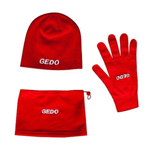 Gedo Winter Pack mutsen, handschoenen en sjaal, heren