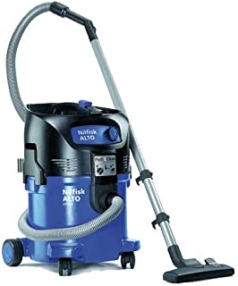 HEPA Dry Vacuum, 23 in. H, 15 in. W, 60 Hz