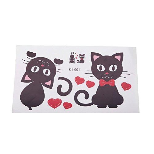LIAWEI 1/2/10 pegatinas de pared de gato lindo interruptor de vinilo adhesivo para decoración del hogar de la casa, cuarto de bebé, decoración de pared, pegatinas decorativas para interruptor de luz