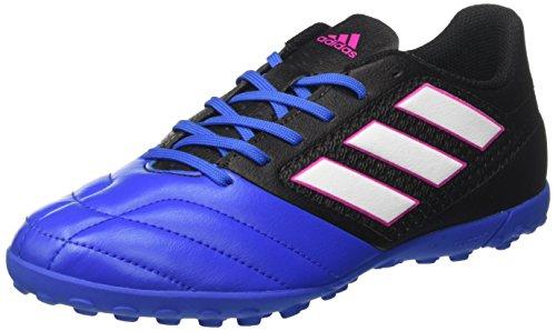 adidas Ace 17.4 Turf, Scarpe da Calcio Uomo, Nero (Core Black/ftwr White/blue), 40 EU