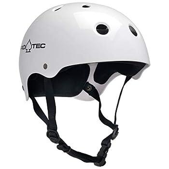 Pro-Tec Classic Skate and Bike Helmet Medium Gloss White