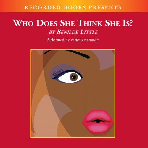 Who Does She Think She Is? audiobook cover art