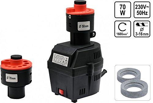 Schärfgerät für Bohrer Schleifgerät Bohrerschleifmaschine Bohrerschärfgerät 70W 3-16 mm