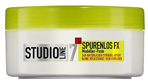 L'Oréal Paris Studio Line Haar-Creme Spurenlos FX Modellier-Paste / Haar-Paste mit Strubbel-Effekt, 24h ultra starker Halt (kein Verkleben, kein Beschweren) 6 x 75 ml
