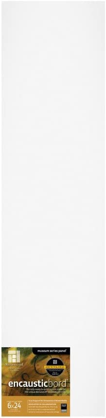 Ampersand Encausticbord Hardboard Panel Mixed Genuine Free Shipping Encaustics and Limited time trial price for