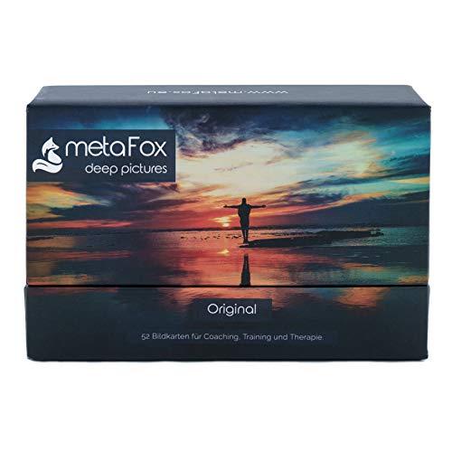 metaFox - ORIGINAL Coaching Karten für Therapie, Supervision, Teambuilding, Training, Workshops, Psychologie