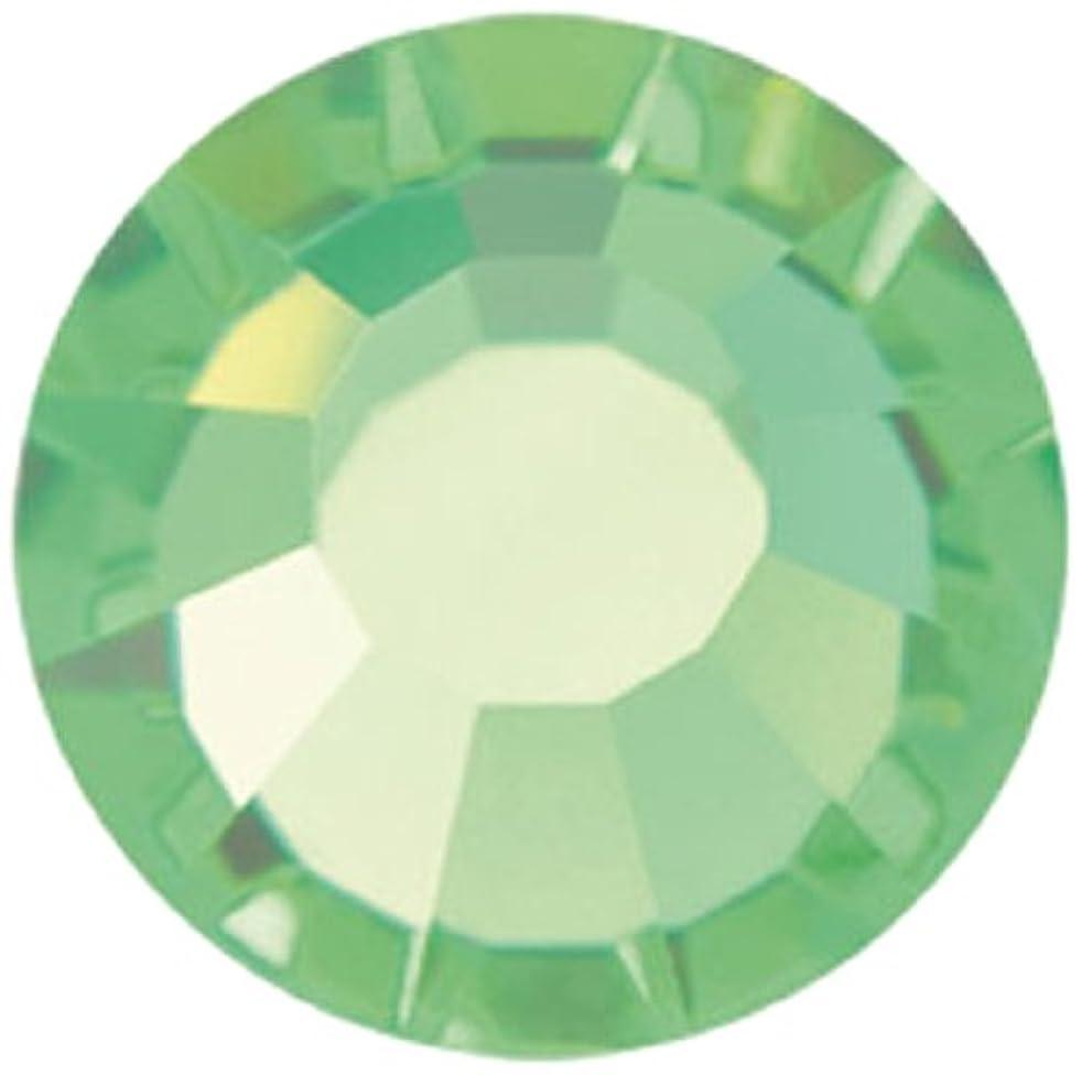 Mode Beads Preciosa 144-Piece Crystal Flatback Beads, Peridot