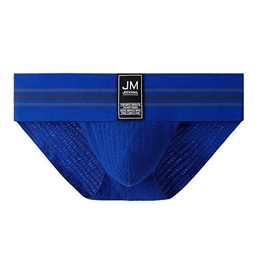 JOCKMAIL Sport Jock Brief 364 - Calzado deportivo azul L