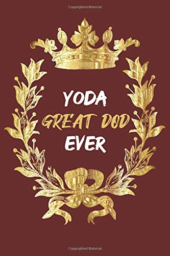 Yoda Great Dod Ever: Notebook 6