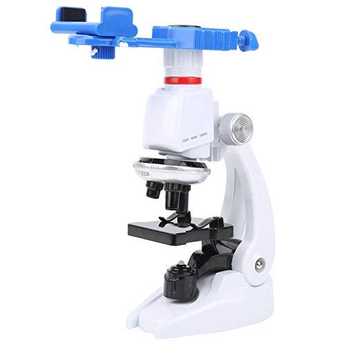 Cloudbox Microscopio monocular Microscopio monocular para niños Kits de Ciencia de Aumento 1200X Accesorio Educativo L