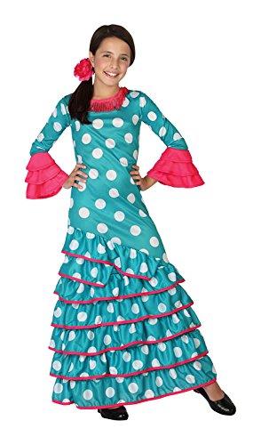 Atosa 26538 – Flamenco, Bleu, Garçon, Taille 104, Bleu Clair/Blanc