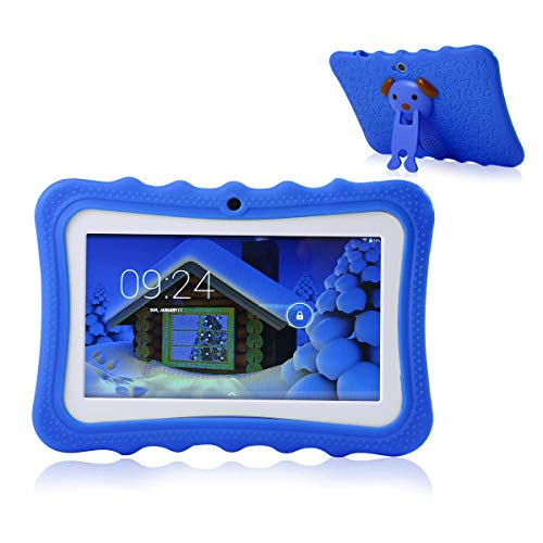 TEEPAO Tablette Tactile Enfants,Tablette 7 Pouces WiFi,Android 4.4,IPS HD...