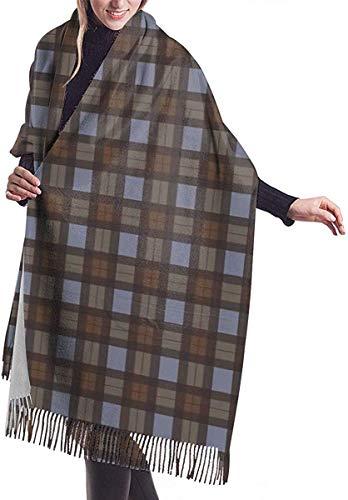 Wickeldecke Schal, Outlander Inspired Tartan Plaid Women Soft Cashmere Scarf Large Pashminas Shawl Wrap Shawl 77