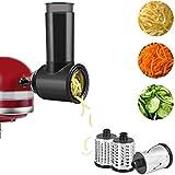 Accesorio para trituradora KitchenAid, accesorio de trituración y rejilla para batidoras KitchenAid...