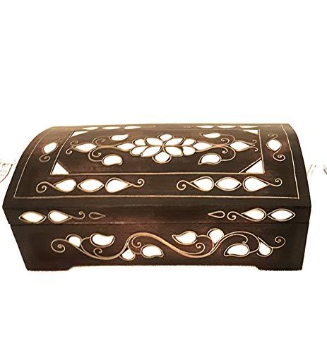 Joyero oriental, joyero turco, caja para joyas con nácar.