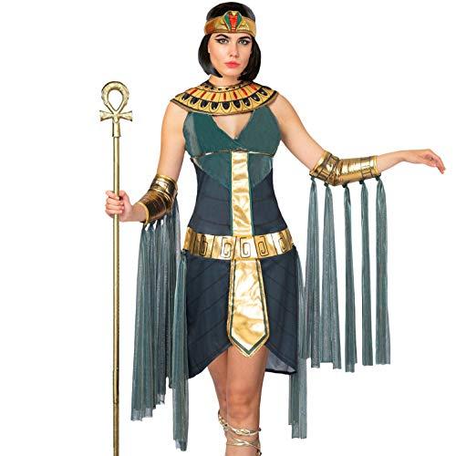Spooktacular Creations - Disfraz de diosa egipcia para mujer, juegos de rol, cosplay