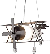 American Industrial Wrought Iron Retro Wind Aircraft Personality E27 Bar Restaurant Lamp Creative Lamp LED Light 15W