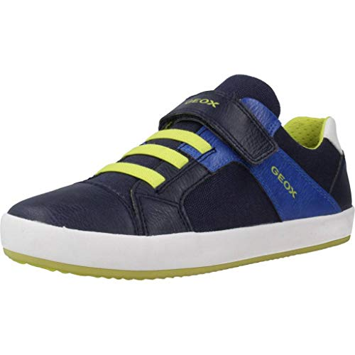 Geox Jungen Laufschuhe J GISLI Boy Blau 32 EU
