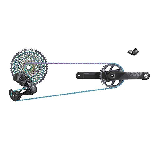 SRAM XX1 Eagle AXS Dub Groupset Black, 175mm, 34t