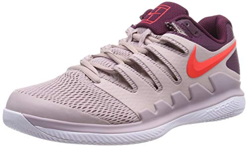 Nike Air Zoom Vapor X HC, Scarpe da Tennis Uomo, Multicolore (Particle Rose/Bright Crimson/Bordeaux 601), 42.5 EU