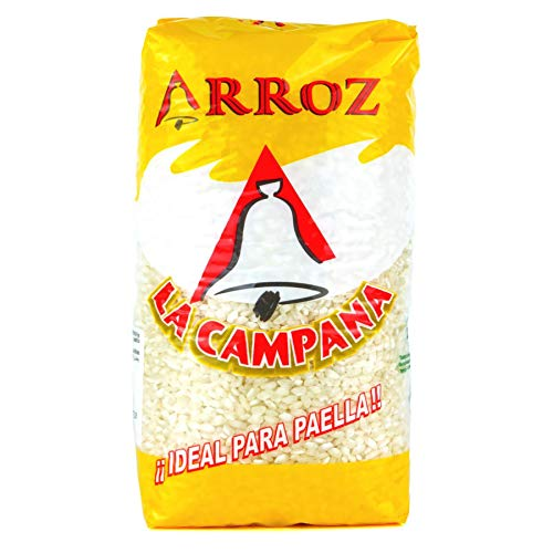 Originaler Paella-Reis 1kg Arroz La Campana, Rundkornreis aus Valencia / Spanien