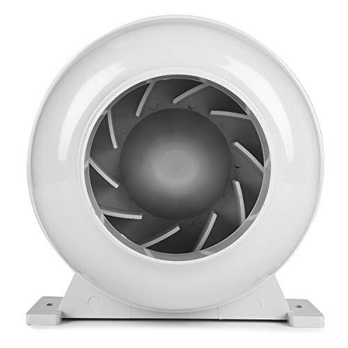 LMIAOM 4 Zoll 100mm Rohrleitungs-Zentrifugalventilator stark für Küchen-Badezimmer-Abluftkanal-Gebläse Hardware-Zubehör DIY-Tools