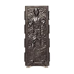 HAN SOLO (CARBONITE): Before attempting to trap Luke Skywalker, Darth Vader tested the carbon-freezing process on Han Solo. The smuggler survived, and was later freed by Princess Leia in Jabba the Hutt's palace 40TH ANNIVERSARY FIGURE: Celebrate 40 y...