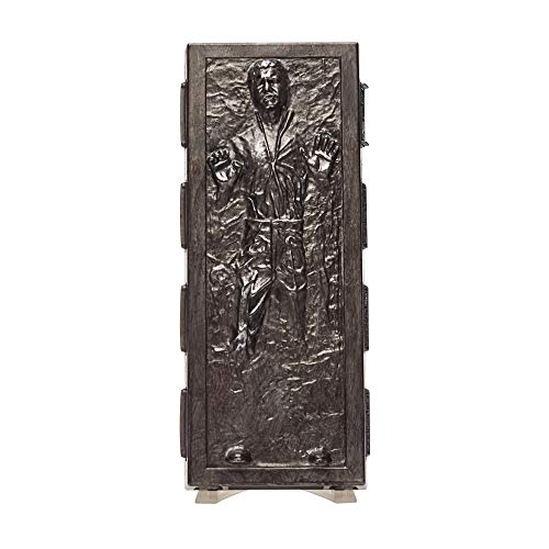 Hasbro Star Wars The Black Series - Han Solo (Action figures 15 cm da collezione, Carbonite, ispirato al filmHasbro Star Wars: L'Impero Colpisce Ancora - Edizione 40° anniversario)