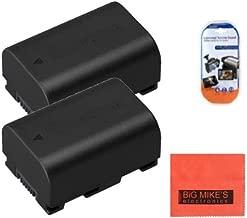 Pack of 2 BN-VG114 Batteries for JVC Everio GZ-E10 GZ-E100 GZ-E200 GZ-E300 GZ-E505B GZ-E515B GZ-EX250 GZ-EX310 GZ-EX355B GZ-EX555B GZ-GX1 GZ-HD500B GZ-HM300B GZ-HM550B GZ-MS110B Camcorder