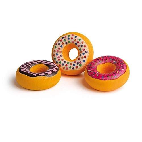 Erzi 13215 Doughnuts aus Holz, Kaufladenartikel für Kinder, Rollenspiele