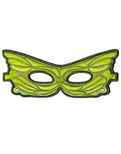 Dreamy Dress-Ups 50784 Mask, Green Fairy (masque en tissu, fée, vert)