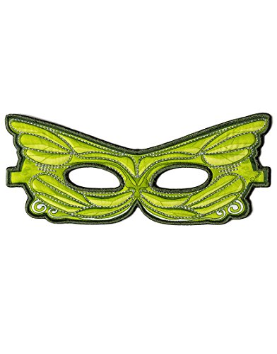 Dreamy Dress-Ups 50784 Mask, Green Fairy (masque en tissu, fée, vert)