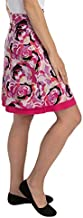 Colorado Clothing Company Women's Reversible Tranquility Skirt, Pink Pattern, Large