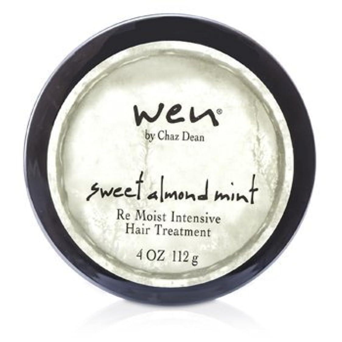 拡散するビルダー扇動WEN Re Moist Intensive Hair Treatment 112g sweet almond mint [並行輸入品]