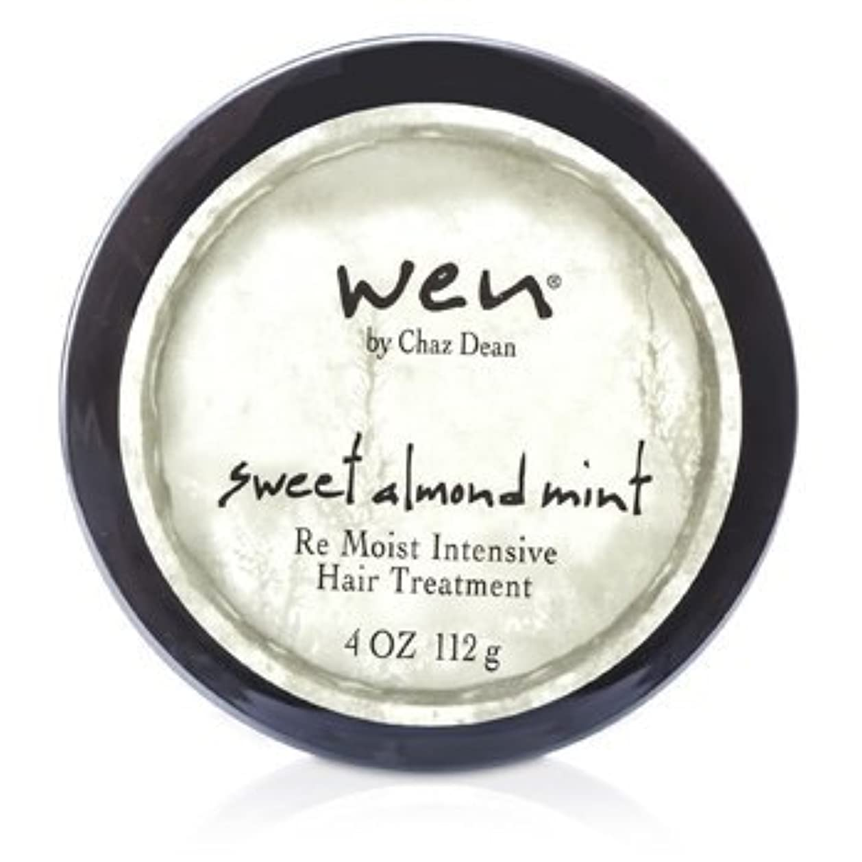 スカウト予知スピーチWEN Re Moist Intensive Hair Treatment 112g sweet almond mint [並行輸入品]