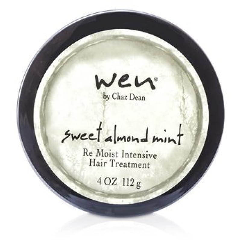 ドループ決して否定するWEN Re Moist Intensive Hair Treatment 112g sweet almond mint [並行輸入品]