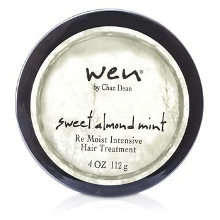 進捗断線感嘆WEN Re Moist Intensive Hair Treatment 112g sweet almond mint [並行輸入品]