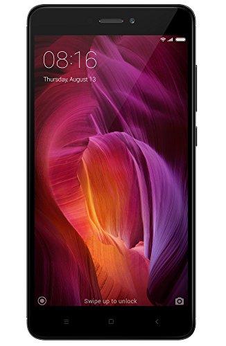 """Xiaomi Redmi Note 4 - Smartphone Libre DE 5.5"""" (4G, WiFi, Bluetooth, Snapdragon 625 2.0 GHz, 64 GB de ROM Ampliable, 4 GB de RAM, cámara DE 13 MP, Android MIUI, Dual-SIM), Gris [versión española]"""